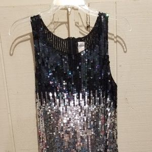 Dress, size medium Silver and Black